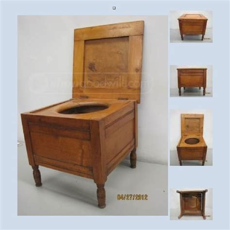 Wooden Commode by Trash Talking Artist Commode Gleanings