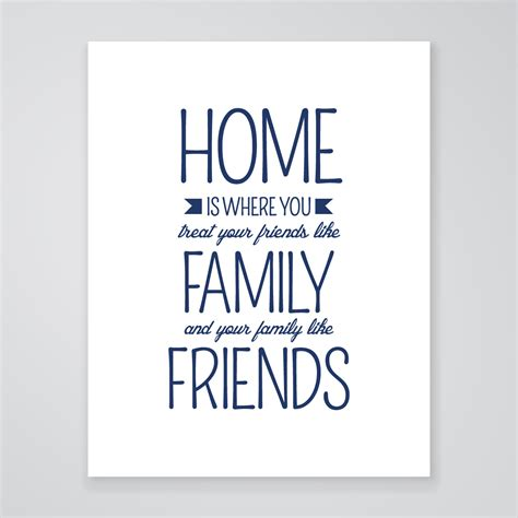 home is where print