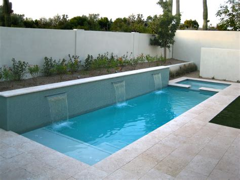 how big is a lap pool lap pool or water feature glass mosaics and modern lines