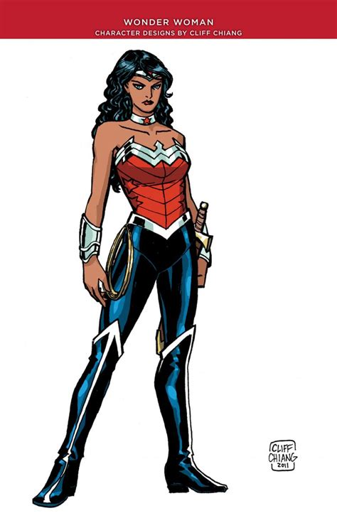 Wonder Woman New 52 | fashion and action wonder woman cliff chiang s new 52