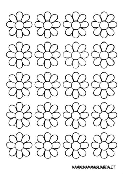 fiori da ritagliare e colorare fiorellini da colorare my