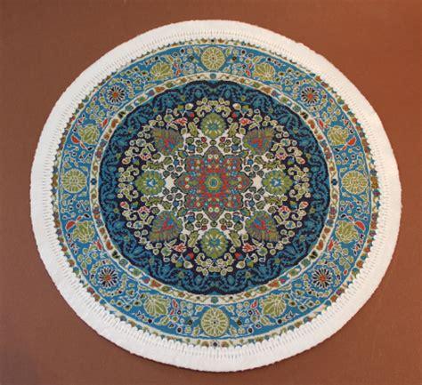 runder blauer teppich teppich rund gr 252 n harzite