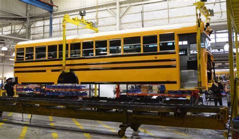 georgia s blue bird bus company thriving