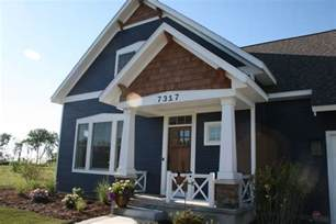 Craftsman Style House Colors by Beach House Craftsman Style Porch Hardie Board Painted
