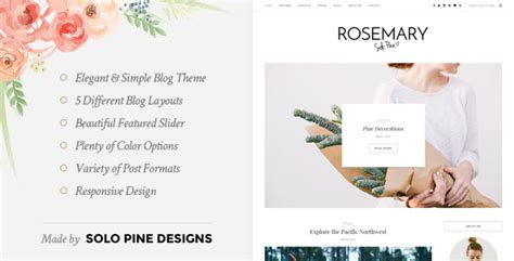 themes moodle gratuitos rosemary a responsive wordpress blog theme by solopine
