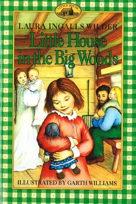 Little House In The Big Woods By Mina Nixon Library Blog House On The Prairie Coloring Pages