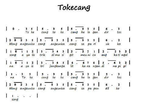 not angka lagu daerah manuk dadali jawa barat tunas63 not angka lagu tokecang info operator not angka lagu