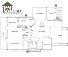small spanish style home floor plans one story spanish style home plans