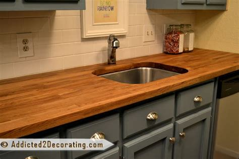 Chopping Block Countertops by Numerar Butcherblock Countertop Saga Continues