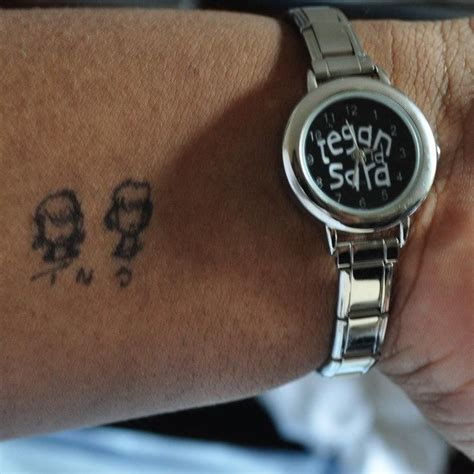 tegan and sara tattoos pin by meaghan on tegan