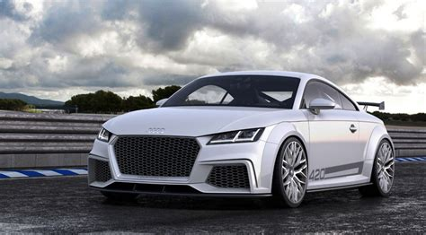 Audi Tt Neues Modell 2014 by Audi Tt Quattro Sport 2014 Official Pictures By