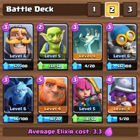 best for 3 the 3 best aren 3 decks in clash royale with without epics