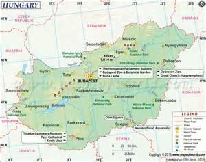 Hungary World Map by Where Is Hungary Location Of Hungary