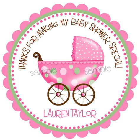 Baby Shower Labels by Baby Shower Stickers New Baby Stickers Baby Stroller