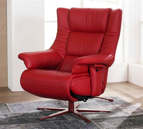 Zerostress Recliner Chairs by Himolla Opus Zerostress Integrated Recliner Leather Chair