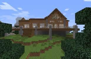 minecraft log cabin by hotah wahya on deviantart