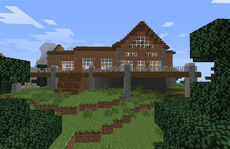 How To Build A Log Cabin Minecraft by Minecraft Log Cabin By Hotah Wahya On Deviantart