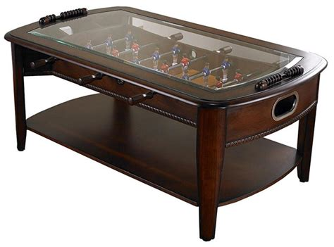 Coffee Table Foosball Foosball Coffee Table