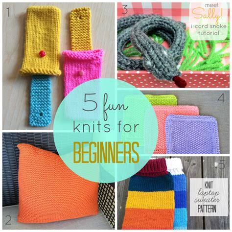 knitting projects for beginners 5 knits for beginners just b crafty