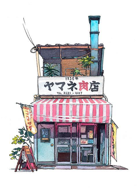 doodlebug shop tokyo storefront 01 on behance