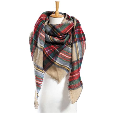 13 Best Designer Scarves by New S Plaid Scarf