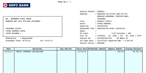 hdfc bank statement cracking hdfc bank statements zia hasan medium