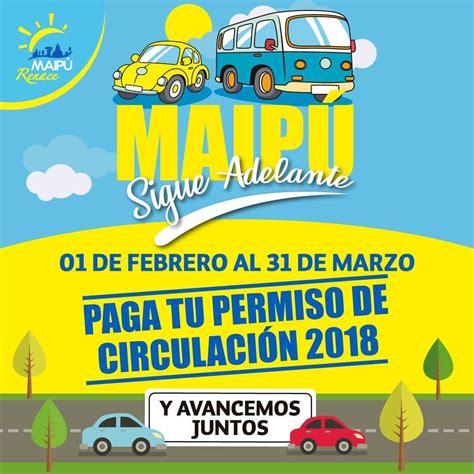 no pagaste el permiso de circulacin de tu auto a tiempo esto es municipalidad de maip 250 maip 218 sigue adelante paga el