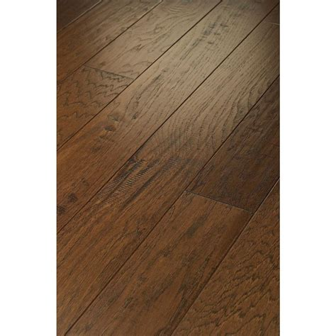 western hardwood floor shaw majestic hickory creek 3 8 in t x 5 in w x
