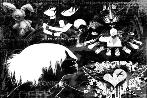 black and white emo wallpaper black emo wallpaper background 20930