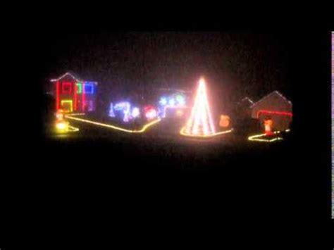Ac Dc Thunderstruck Christmas Light Show Youtube