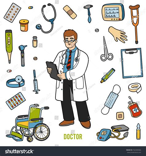 cartoon doctor equipment pictures to pin on pinterest