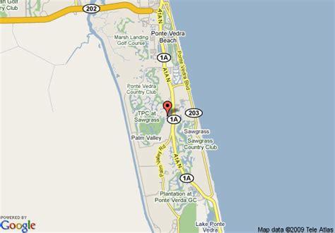 sawgrass map pin marriott sawgrass on