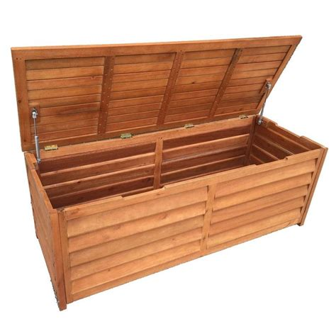 bench chest storage outdoor timber storage chest 3 seat bench 150cm buy