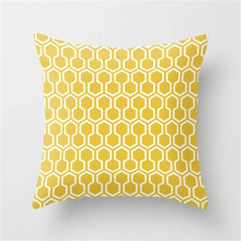 yellow pattern cushion covers throw pillows geometric pillow and cushions on pinterest