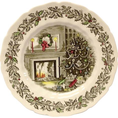 johnson brothers merry christmas 10 5 8 quot dinner plate from