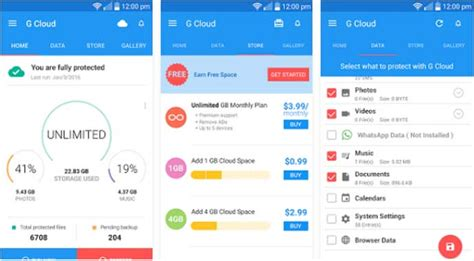 android cloud backup top free best cloud app for android to store your data