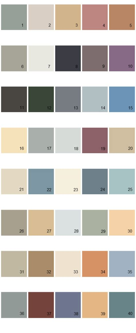 behr paint colors palette 21 house paint colors