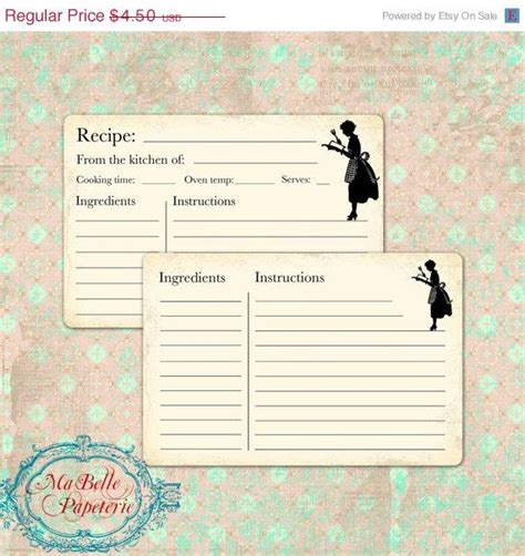 Recipe Card Template Software by 10 Best Recipe Card Templates Images On Recipe