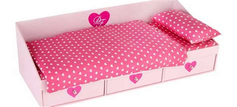 Design A Doll Day Bed | chad valley designafriend doll day bed accessory review