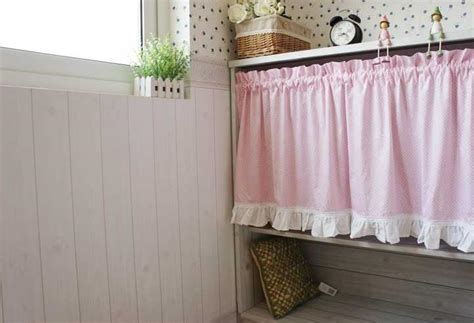 country cafe curtains french country pink polka dot cafe kitchen curtain 001 ebay