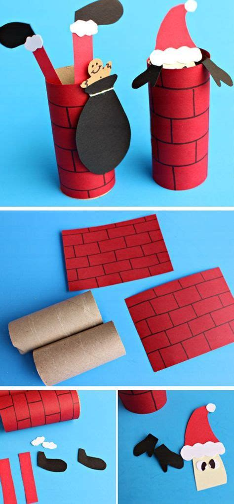 Chimney Paper Roll - 2235 best images about crafts winter on