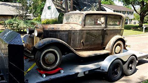 1932 ford model 18 for sale must remain original 1932 ford model 18 sedan