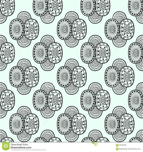 ornamental seamless pattern vector abstract background vector seamless decorative ethnic pattern vector