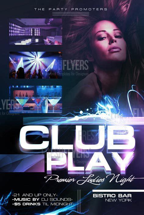 free nightclub flyer templates http www freepsdflyer free club flyer template