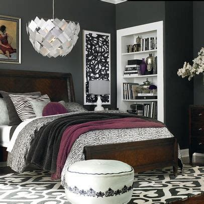 grey bedroom with brown furniture 72 best images about my gray and purple master on