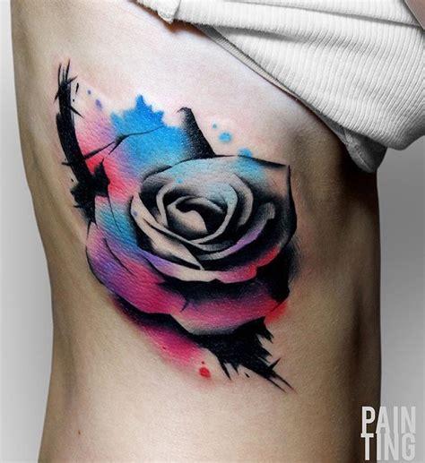watercolor tattoo pain szymon gdowicz ting ting