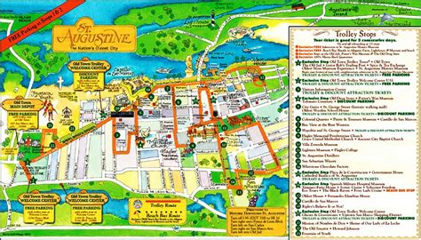 st augustine map map of st augustine florida my