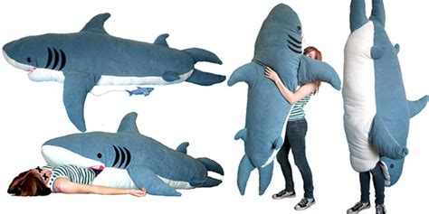 giant stuffed shark sleeping bag giant plush shark sleeping bag interior design ideas