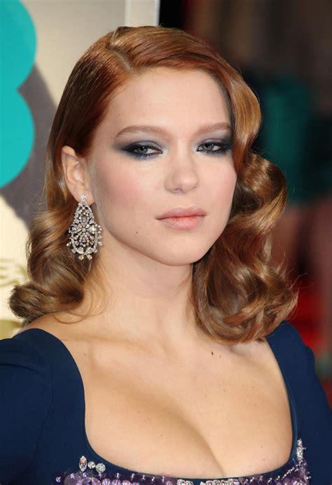 lea seydoux bafta l 233 a seydoux s 10 best hair and makeup looks beautyeditor