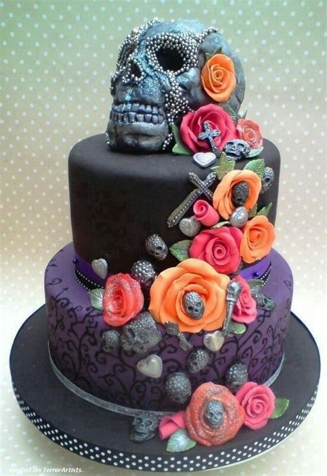 Hochzeitstorte Totenkopf by Alternative Wedding Cake Birthday